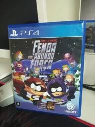 Título do anúncio: Jogo PS4 - Mídia física South Park - A fenda que abunda força