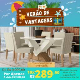 VERÃO DE VANTAGENS / CONJUNTO DE JANTAR KAPPESBERG