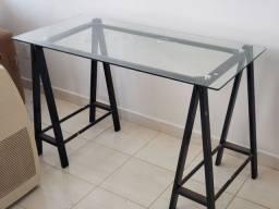 Título do anúncio: Mesa cavalete vidro