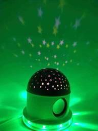 Abajur luminária céu estrelado com Bluetooth ??