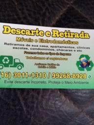 Descarte  retirada de móveis eletrodomésticos  16 3011 1310