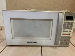 Microondas queimado