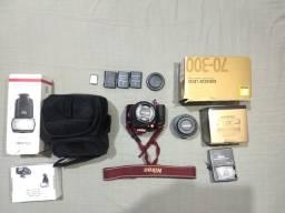 Kit câmera Nikon ( vendo ou troco)