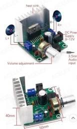 Placa amplificadora TDA 7297