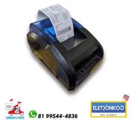 Mini Impressora Térmica USB e  Bluetooth Portátil 58mm só zap