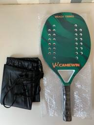 Título do anúncio: Raquete Beach Tennis Camewin NOVA