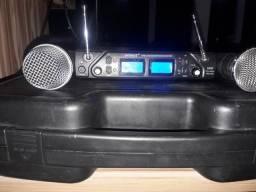 Microfone Sem fio Karsect digital, KRU 362