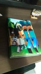 Capa pra tablet minecraft