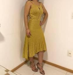 Vestido Lurex NOVO