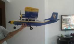 Aeromodelo Bimotor Blue Angels