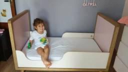 Berço/mini cama Quater semi novo