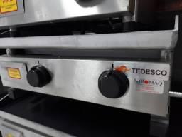 Título do anúncio: BGT-62 Chapa Bifeteira a Gás 62cm - Tedesco