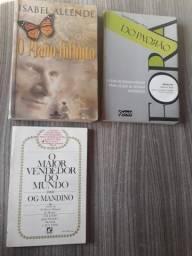Vendo livros usados em bom estado de conservação