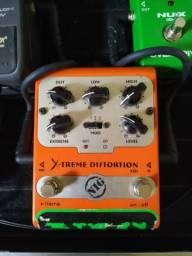 Pedal Guitarra distorção
