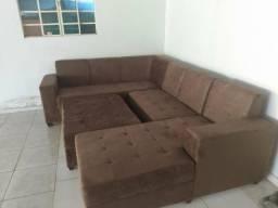 Sofá planície 4 peças