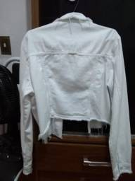 Jaqueta branca da walery