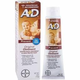 A+D Creme Preventivo Contra Assaduras Tubo 113g Import EUA