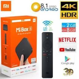 Xiaomi Mi Box S 4k Global Tv 4k Ultra Hd Free Android + Nfe