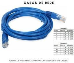 Cabos de Rede Categoria 5 e Categoria 6