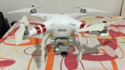 Drone phantom 3 na caixa, impecável