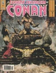 Revista em Quadrinhos A Espada Selvagem de Conan - Ed. 54 - Marvel-Abril - 1994