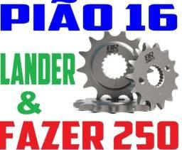 Pinhão 16 Dentes P/ Fazer 250 e Lander 250 - Passo 428 - Pra Andar Mais e Consumir Menos