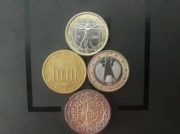 Moedas EURO para coleçao, todas por R$50