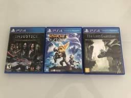 Jogos PS4 (leia o anúncio)