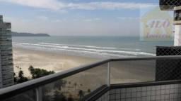 Apartamento com 3 dormitórios para alugar, 91 m² por R$ 3.200/mês - Aviação - Praia Grande