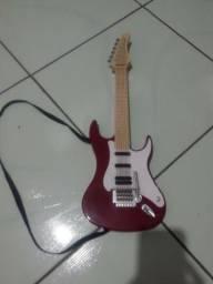 Guitarra elétrica infantil brinquedo