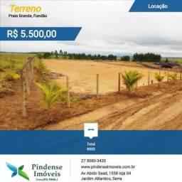 Terreno para aluguel em Fundão, 8.000m²