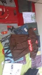 Camisas masculina de vários modelos