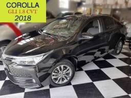 Toyota - Corolla GLI 1.8 - Rodas Diamantadas - Central Multimídia - 2018