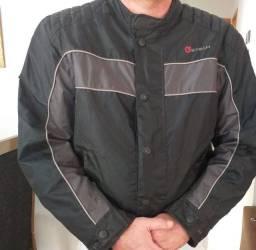 Jaqueta motoqueiro reforcada