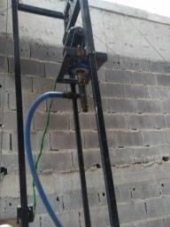 perfuratriz de poço semi artesiano completa