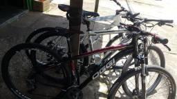 3 bikes topsimas pra venda! Todas com notas fiscais.