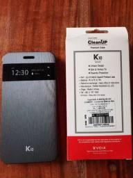 Vendo 01 capa e 01 película do celular LG K10 por R$ 50,00 (Apucarana PR)