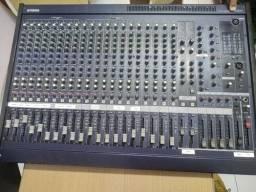Mesa De Som Yamaha Mg24/14fx - Torro com case TOP R$ 2.200. A vissta o cartão