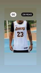 Título do anúncio: Regata NBA Nike Icon Edition Lakers Branca