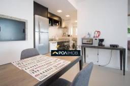 Apartamento com 2 dormitórios para alugar, 60 m² por R$ 3.500,00/mês - Petrópolis - Porto