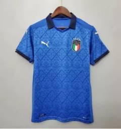 Promoção Camisa Seleção Itália Home 20/21 s/nº Torcedor.(Apenas Venda). 99,99
