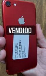 Título do anúncio: IPhone 7 128 Gigas Red(Perfeito e completo)em 12x no cartão