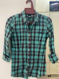 Camisa xadrez Colcci Denim