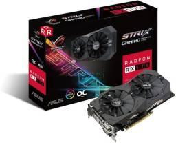 RX 570 Radeon - Abaixo da tabela