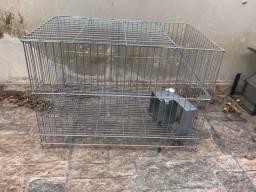 Gaiola grande para chinchila e roedores