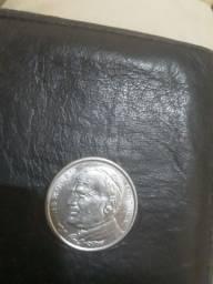 Título do anúncio: Moeda João Paulo 2 comemorativa$50