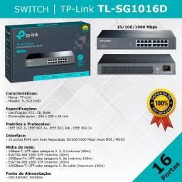 Switch TP-Link - TL-SG1016D - novo pronta entrega