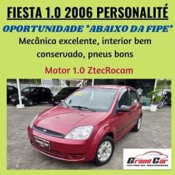 Fiesta Personalité 1.0 2006/ Oportunidade - Abaixo da Fipe