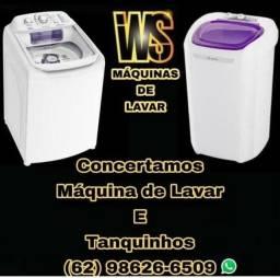 Concerto de máquina de lavar
