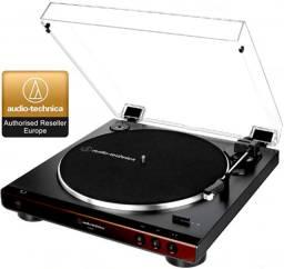 Toca Disco Audio Technica Lp60x Automático Bivolt Bw